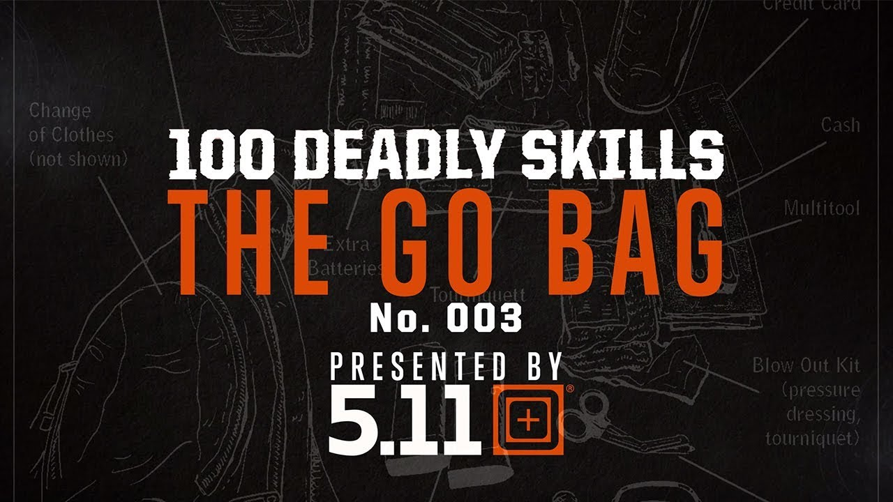 How To Build A Go-Bag | 5.11 Tactical