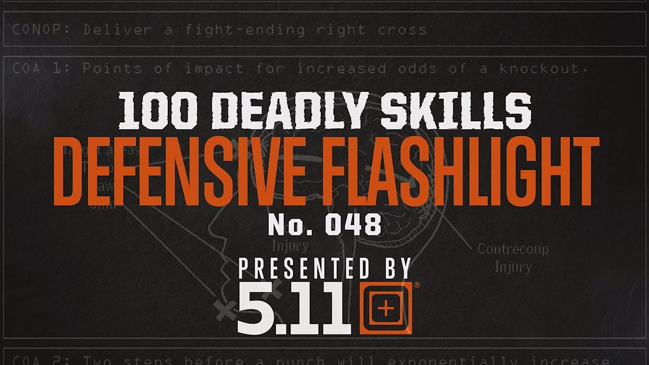 How To Use A Flashlight For Self Defense | 5.11 Tactical