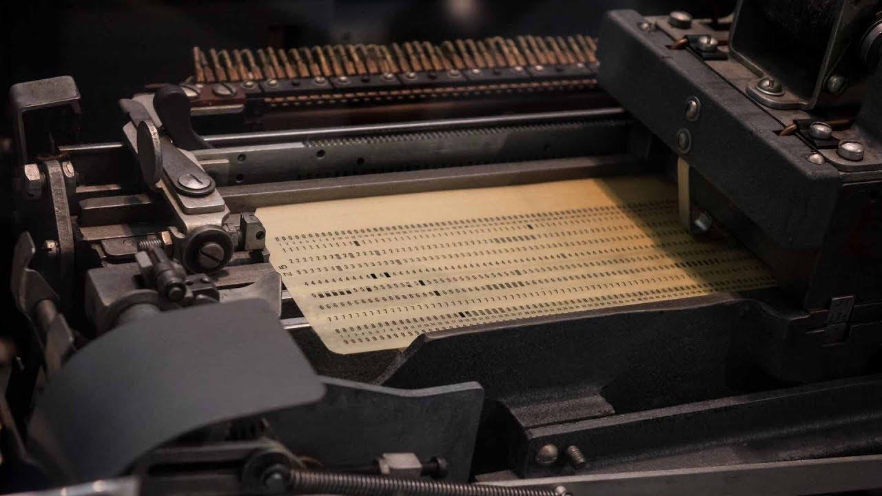 IBMs Lochkarten-Rechner: Die tödliche Falle für Europa