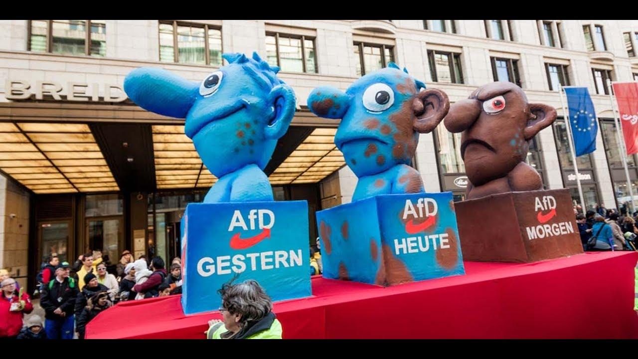 Infiltration der AfD komplett? Roewer und Compact klatschen