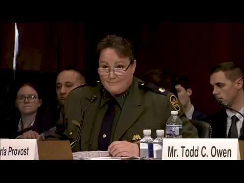 U.S. Border Patrol Chief Carla Provost Testifies About the Border Crisis