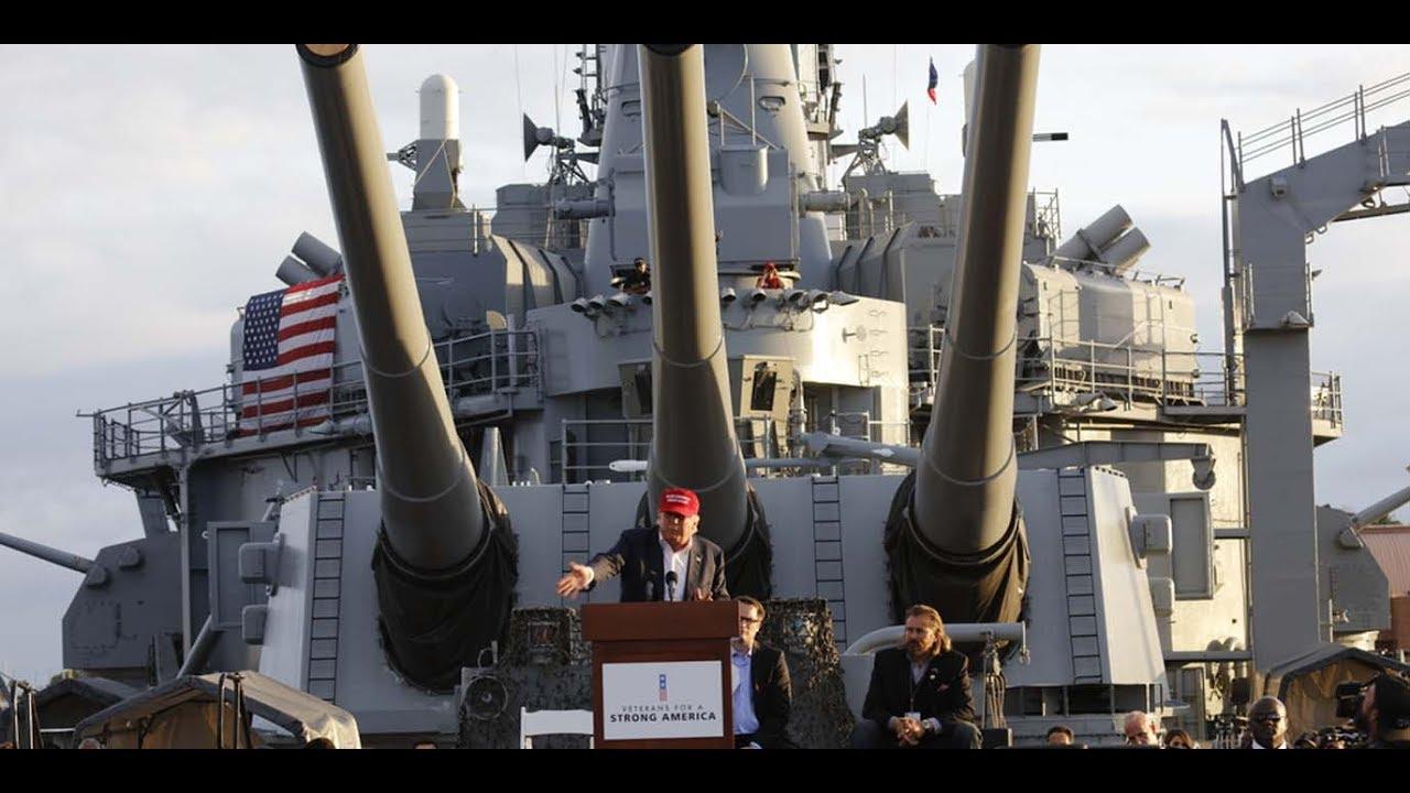 Donald Trumps begrenzter Weltkrieg