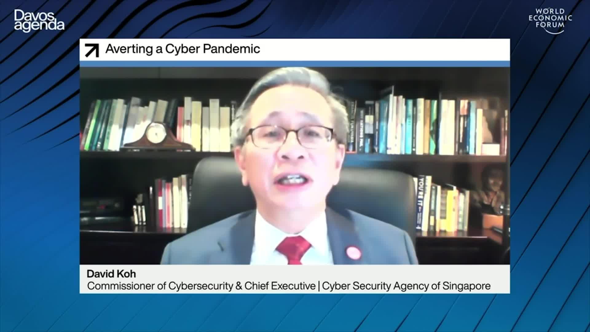 Die seltsamen Partner des WEF für Cybersicherheit